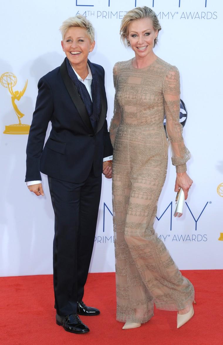 Image: Ellen DeGeneres, Portia de Rossi