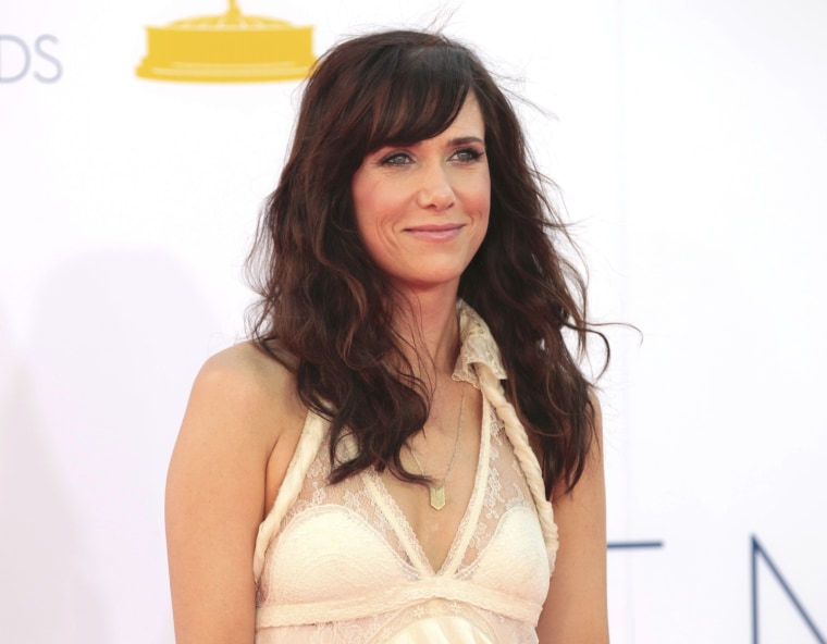 """Image: Kristen Wiig of """"Saturday Night Live"""" arrives at the 64th Primetime Emmy Awards in Los Angeles"""