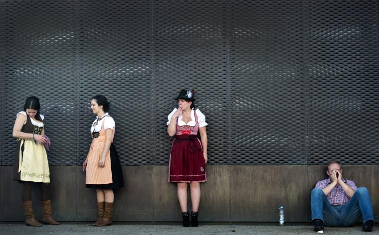 Image: Munich beer festival Oktoberfest 2012