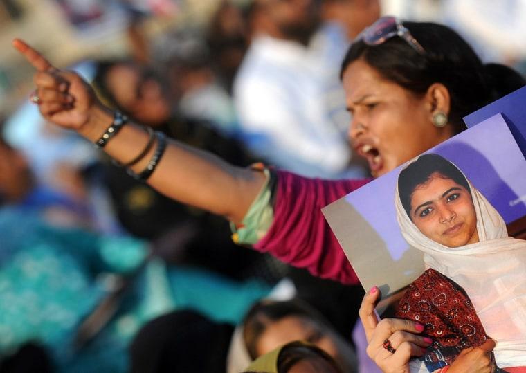 Image: Rally in Karachi, Pakistan