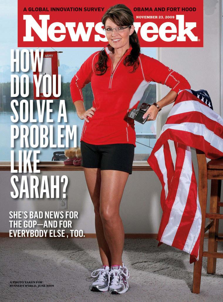 Image: Newsweek Nov. 23 cover