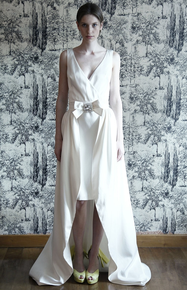 Bold bridal: Unique wedding gown trends