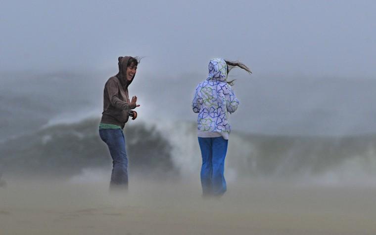 Image: Hurricane Sandy Moves Up East Coast