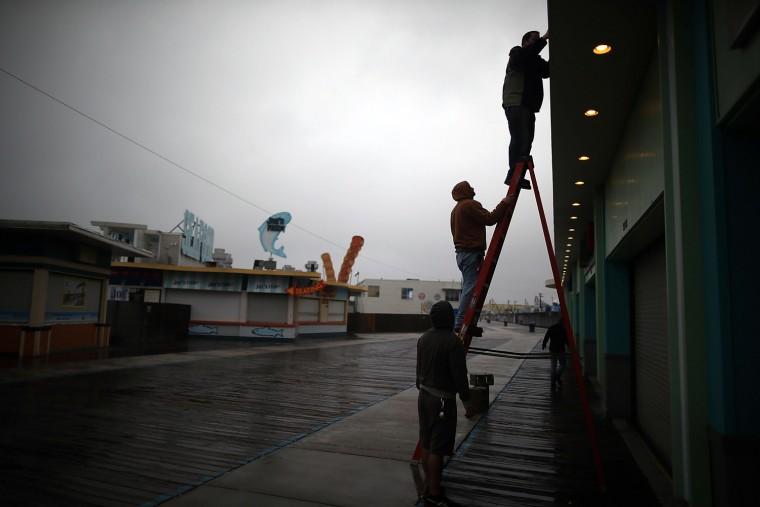 Image: Mid Atlantic Coast Prepares For Hurricane Sandy
