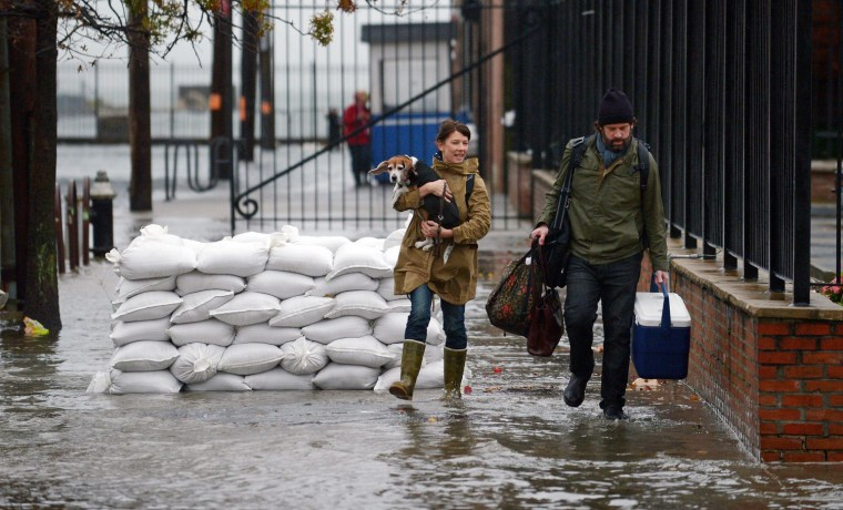 Image: Hurricane Sandy in New York