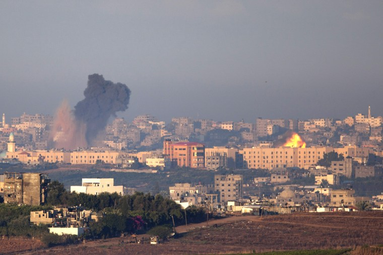 Image: Israel Launches Airstrikes On Gaza