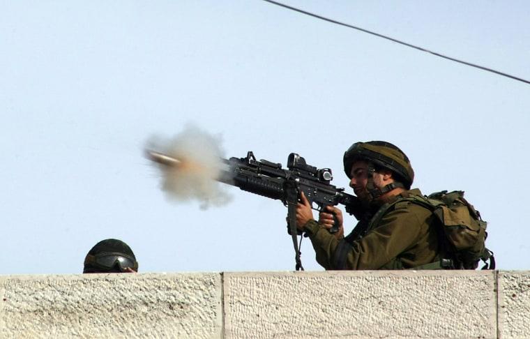Image: TOPSHOTS-PALESTINIAN-ISRAEL-GAZA-CONFLICT-DEMO