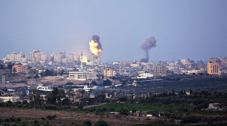 Image: BESTPIX  Israel Launches Airstrikes On Gaza