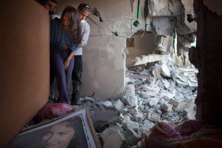Image: Gaza Militants Continue Rocket Fire Toward Israel