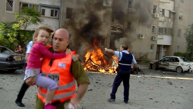 Image: ISRAEL-PALESTINAN-CONFLICT-GAZA