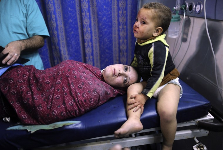 Image: Gaza's Health Ministry said on Monday that 91 people had been killed over six days, with Israel striking a wider range of targets.