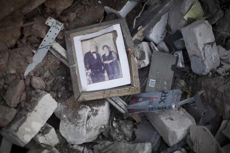 Image: Gaza after Israeli air strike