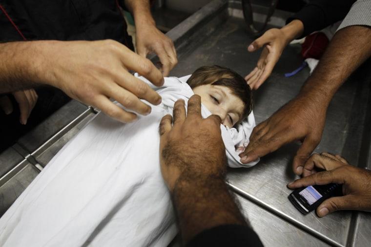 Image: TOPSHOTS-PALESTINIAN-ISRAEL-CONFLICT-GAZA-MEDIA