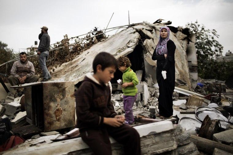 Image: TOPSHOTS-PALESTINIAN-ISRAEL-GAZA-UNREST-TRUCE