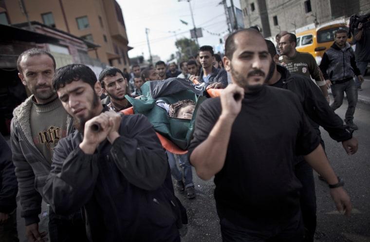 Image: Funeral for killed militant in Gaza