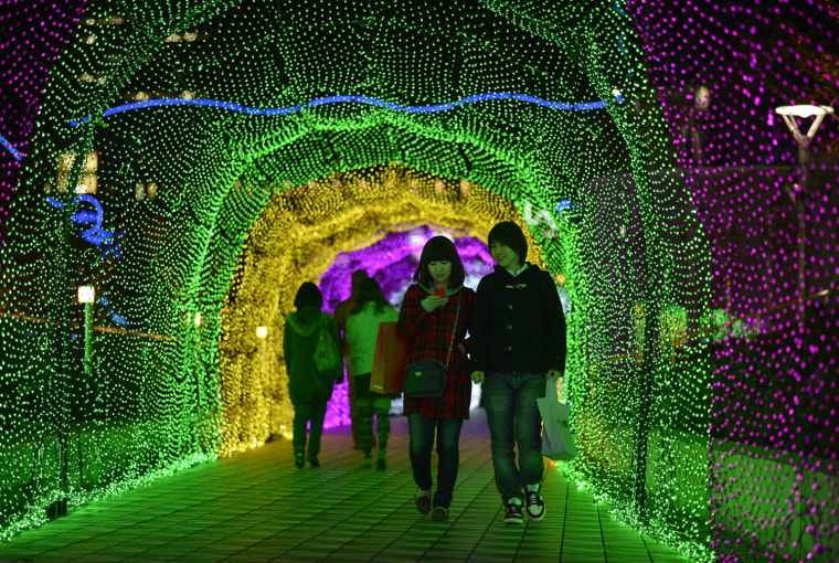 Image: Christmas illuminations