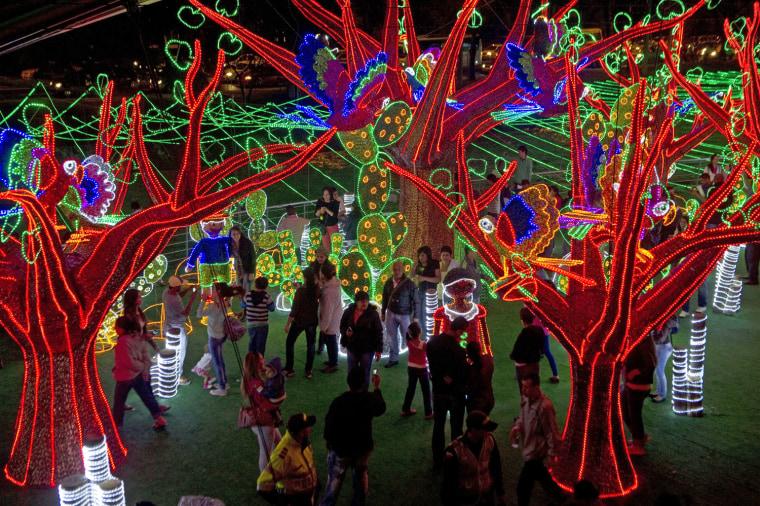 Image: COLOMBIA-CHRISTMAS-ILLUMINATION