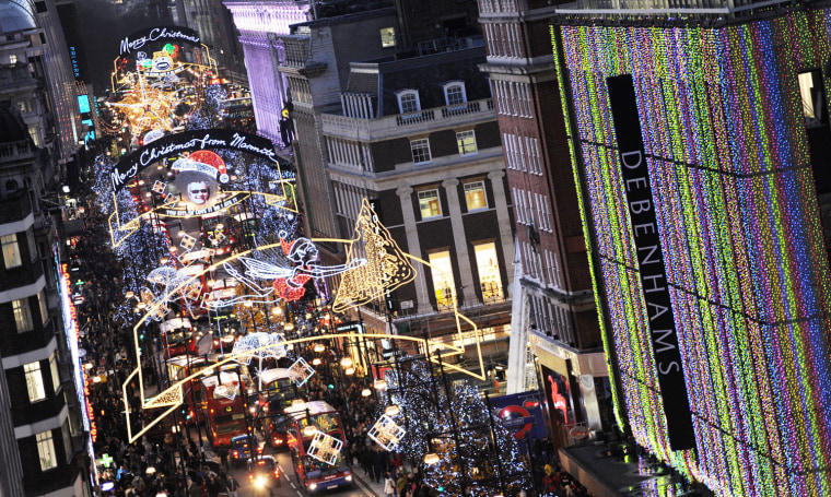 Image: Christmas Shopping in London