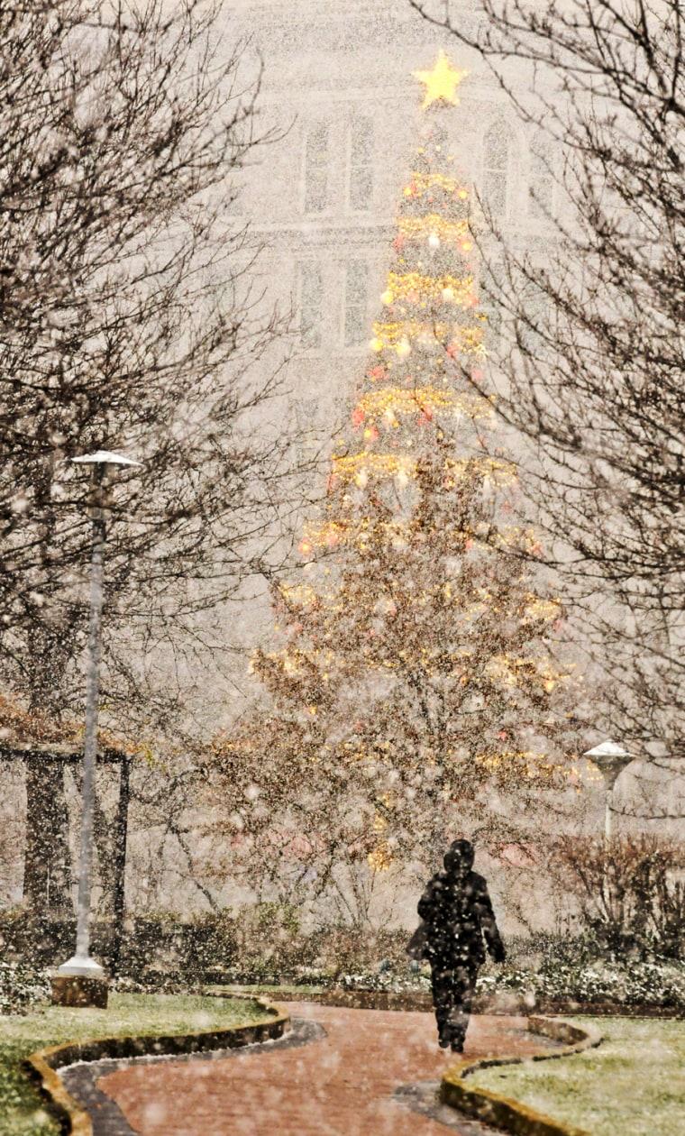 Image: Winter Storm Hits Pittsburgh Region