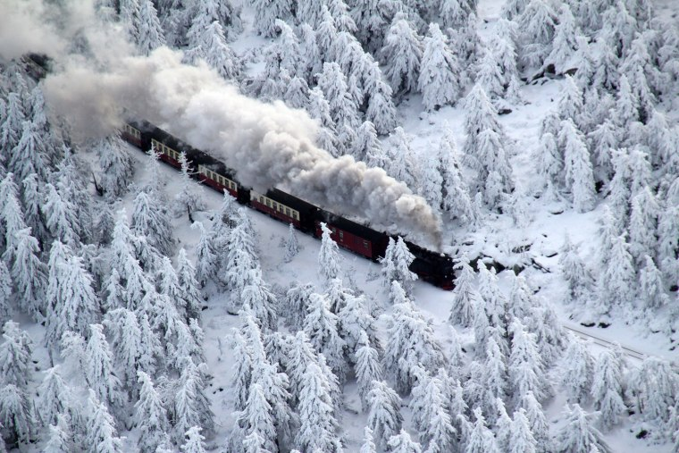 Image: Winter in the Harz Mountains
