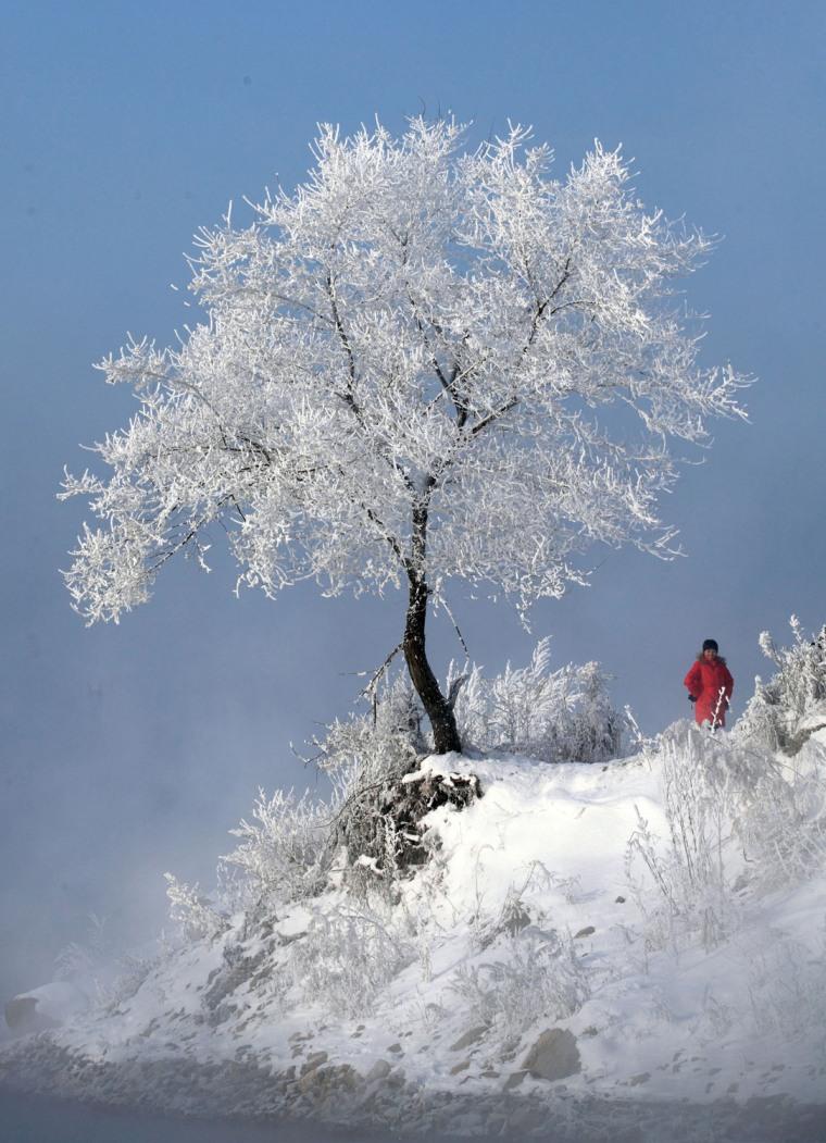 Image: CHINA-WEATHER-WINTER
