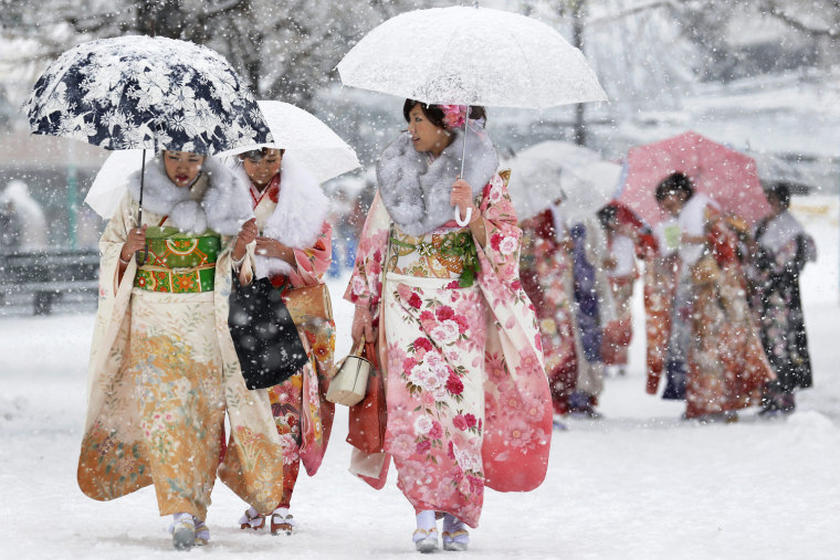 Image: Coming of Age Day in Japan
