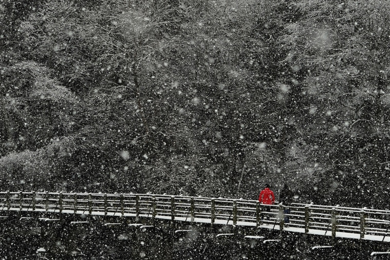 Image: BRITAIN-WEATHER-SNOW