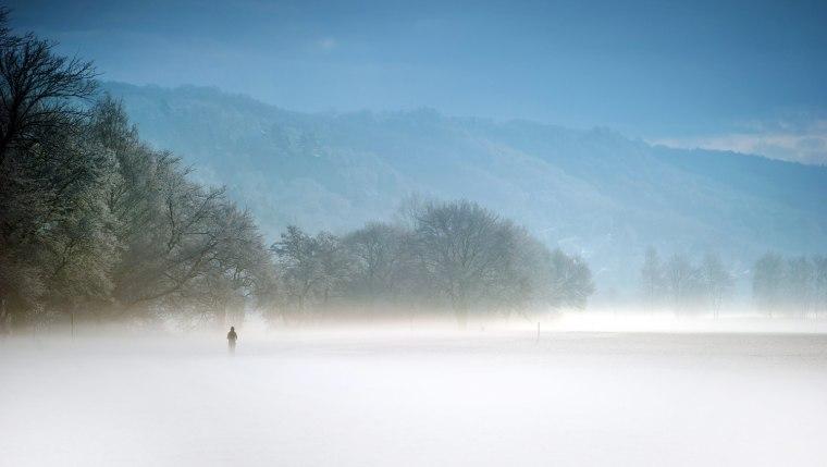 Image: Fresh snow in Saxony