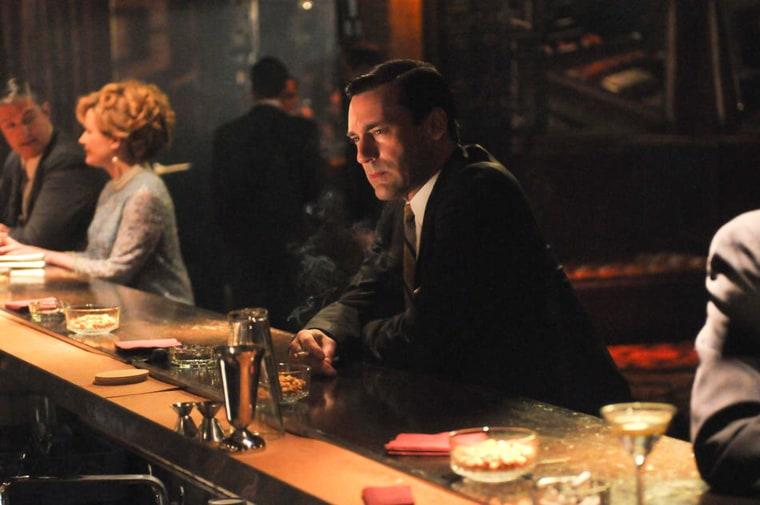 Don Draper (Jon Hamm) - Mad Men - Season 5, Episode 13 - Photo Credit Michael Yarish/AMC
