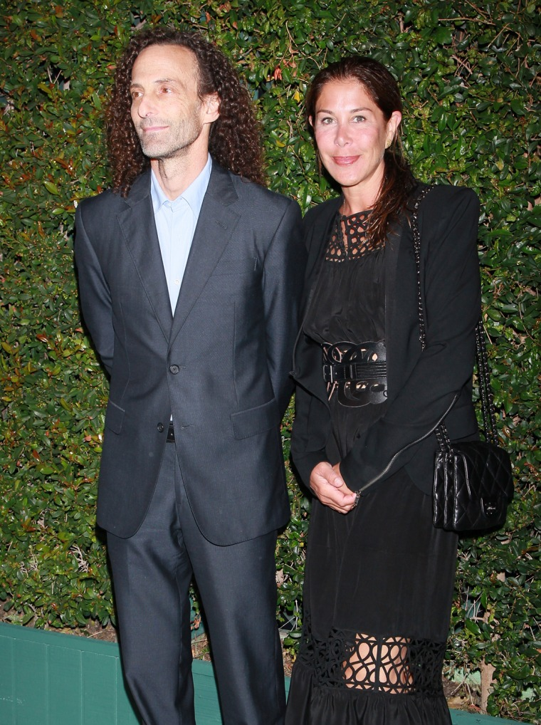FILE:  Kenny G Files For Divorce From Wife Lyndie Benson-Gorelick