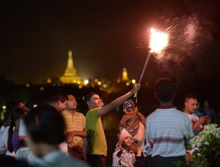 Image: MYANMAR-NEW YEAR