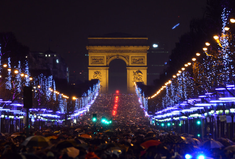 Image: FRANCE-NEW YEAR-PARIS