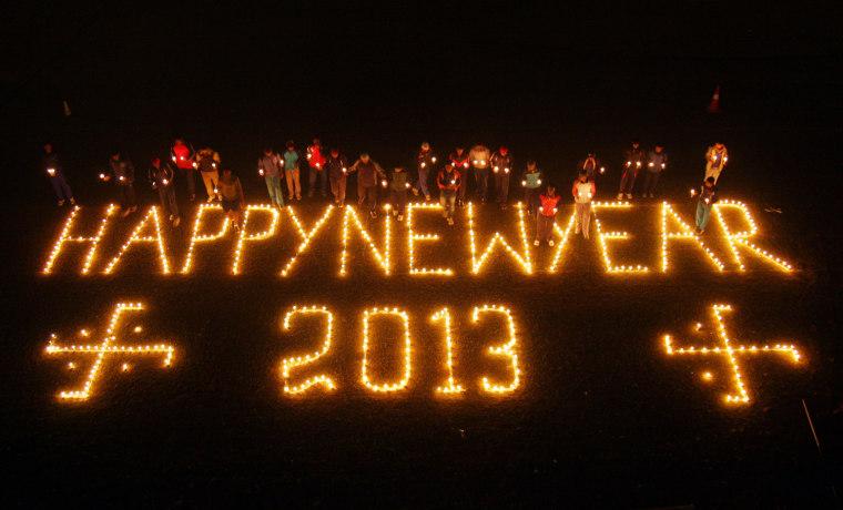 Image: INDIA-NEW YEAR