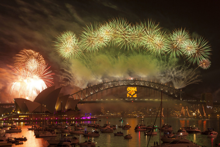 Image: New Year's Fireworks in Sydney