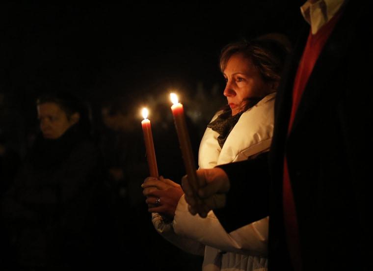 Image: vigil at Saint Rose of Lima