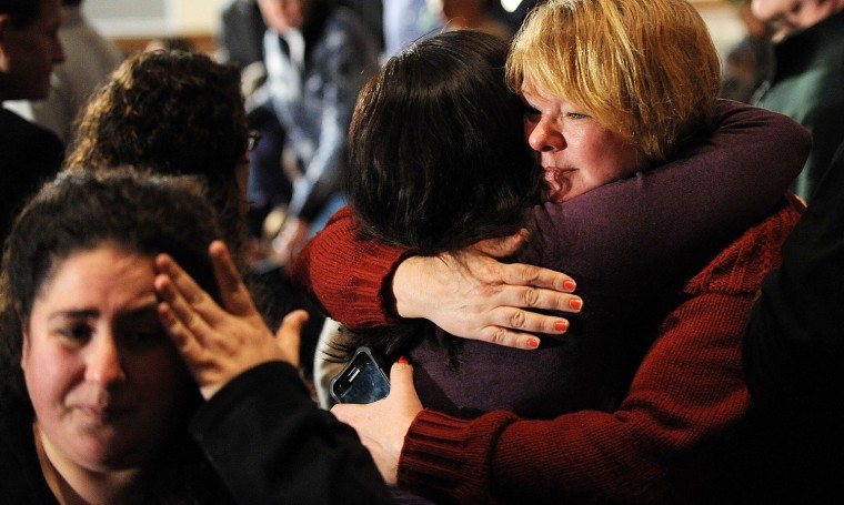 Image: President Obama Visits Newtown, CT, Consoles Families Of Shooting Victims
