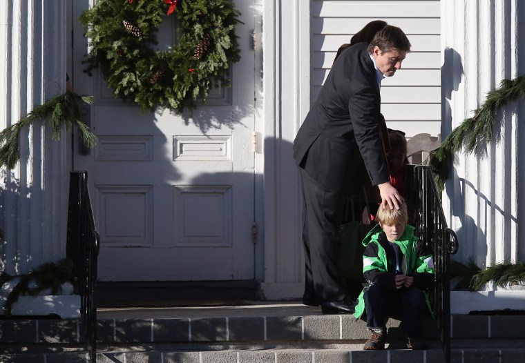 Image: Funerals Continue To Be Held For Victims Of CT Elementary School Massacre