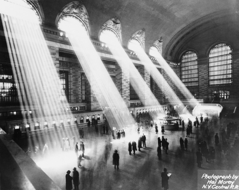 Image: Sun Beams Into Grand Central Station