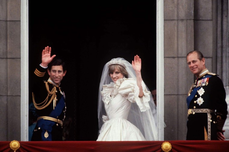 Royal Wedding Prince And Princess Of Wales