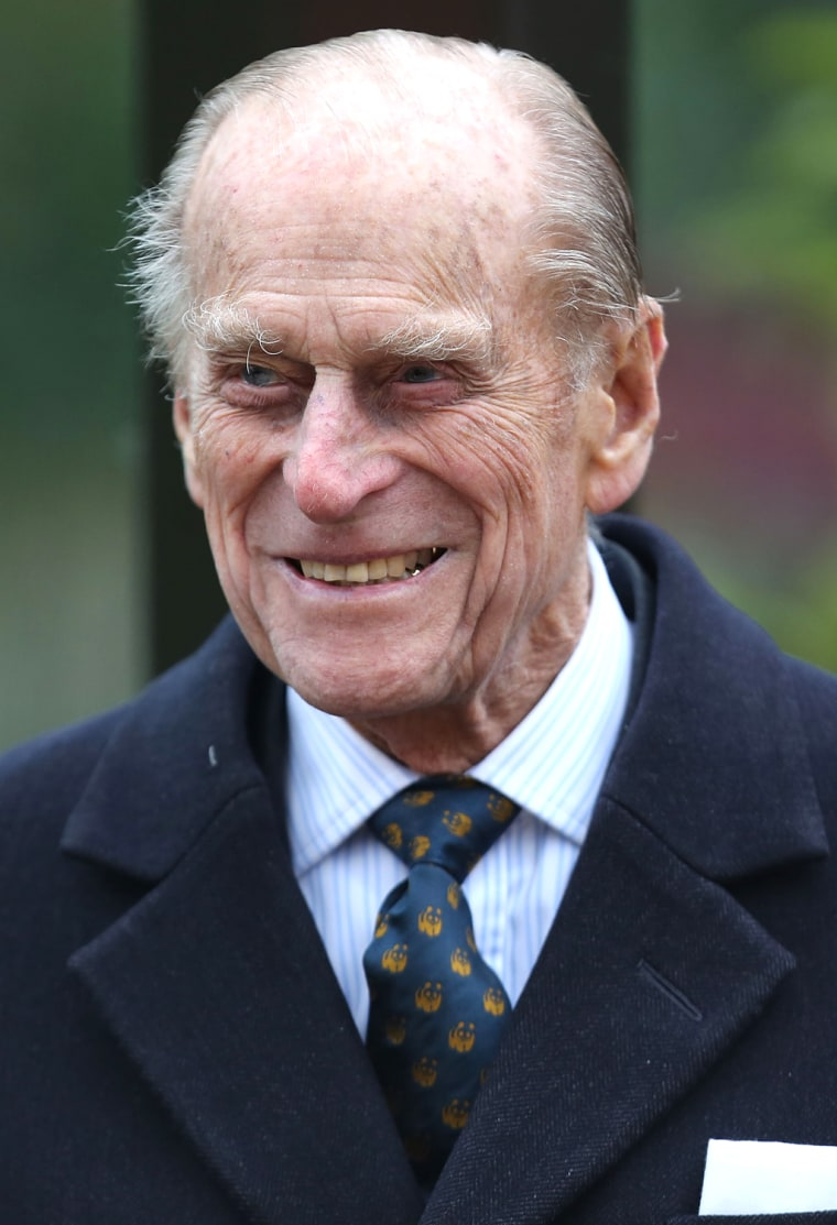 The Duke Of Edinburgh Opens London Zoo's Tiger Territory