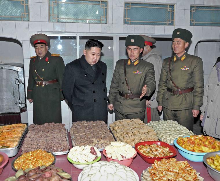 Image: North Korea's new leader Kim Jong-un visits the Seoul Ryu Kyong Su 105 Guards Tank Division of the Korean People's Army (KPA) in Pyongyang