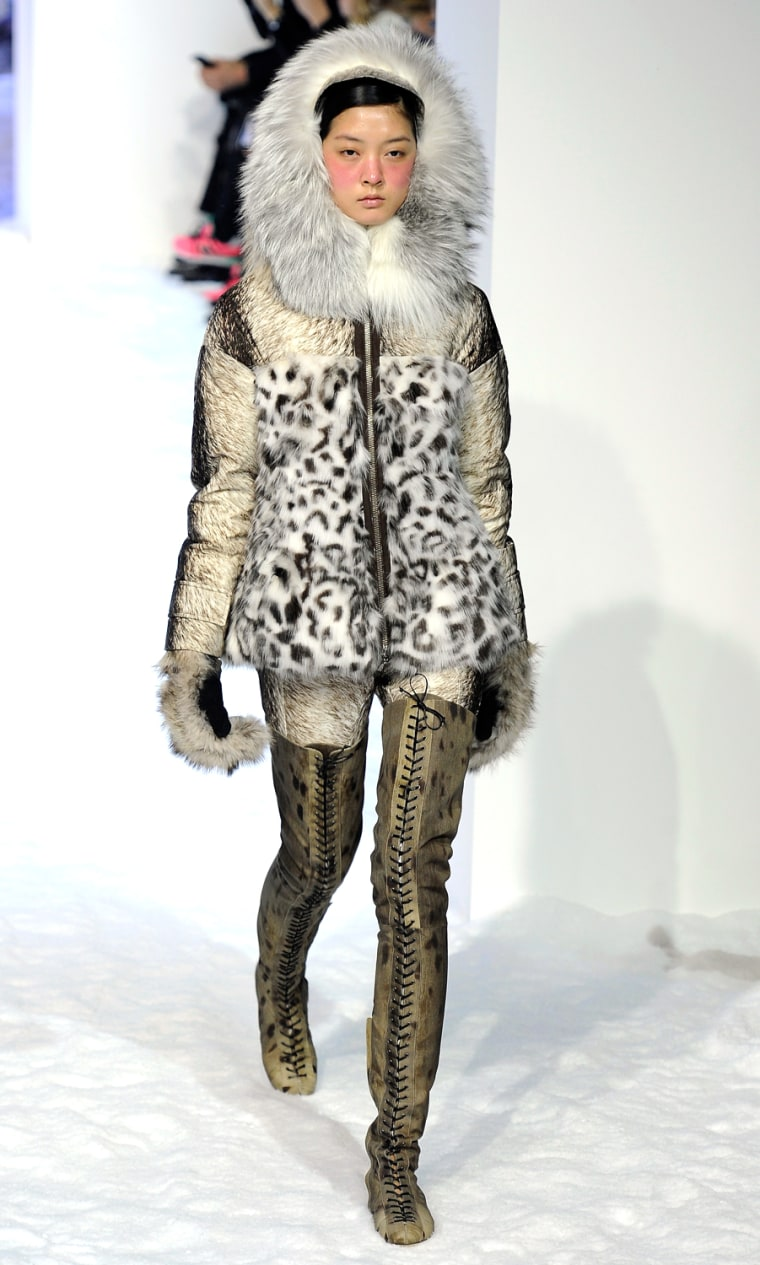 Image: Moncler Gamme Rouge - Runway - PFW F/W 2013