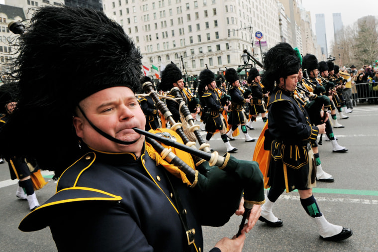 Image: 251st Annual St. Patrick's Day Parade in New York