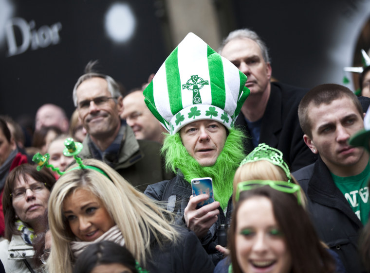 Image: Annual St. Patrick's Day Parade Held In New York City