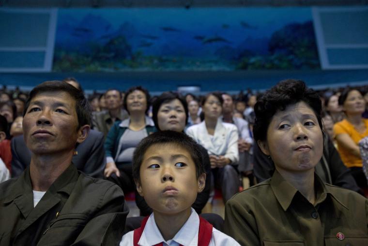 Image: Pyongyang, North Korea.