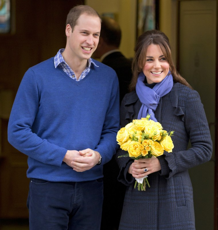 Image: Duchess Of Cambridge Leaves The King Edward VII Hospital