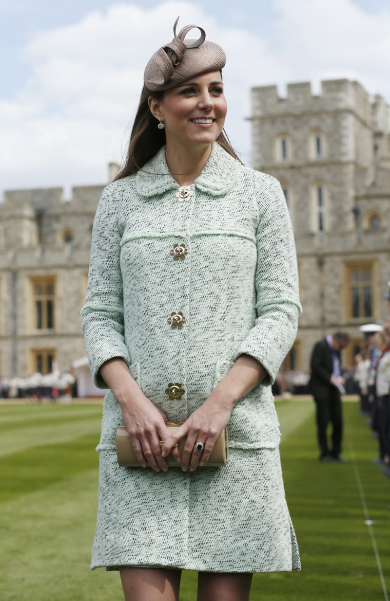 Image: The Duchess Of Cambridge Attends The National Review Of The Queen's Scouts At Windsor Castle