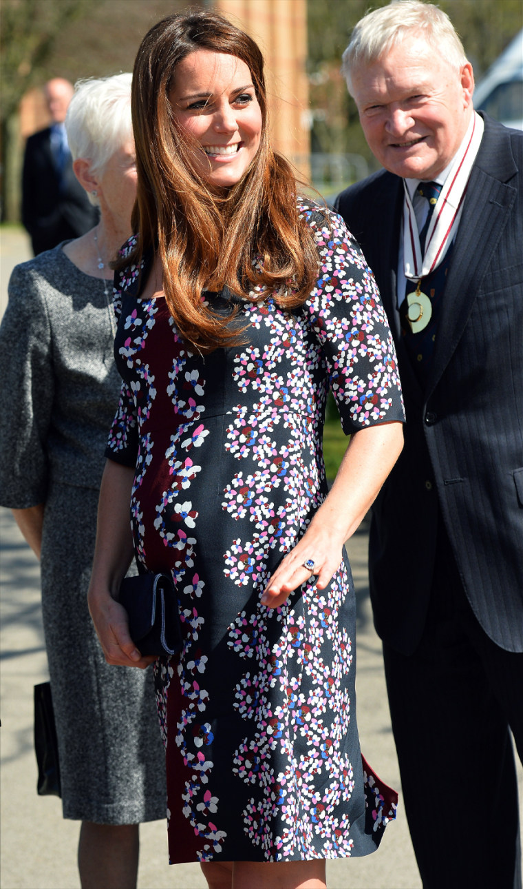 Image: The Duchess Of Cambridge Visits Manchester