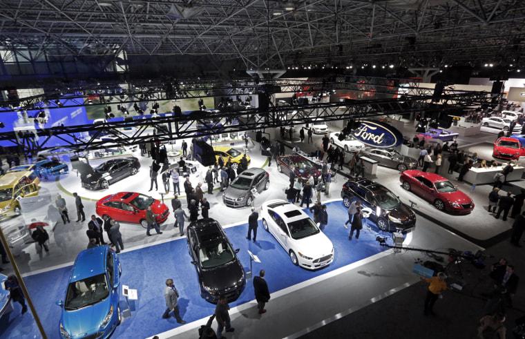 The New York International Auto Show - Javits car show