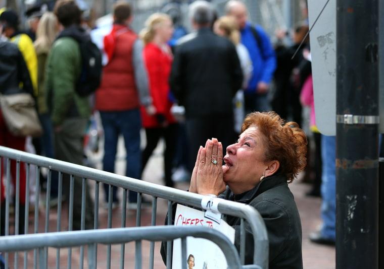 Image: Explosions At 117th Boston Marathon